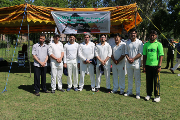 T20 match between faculties of AMC and WMC