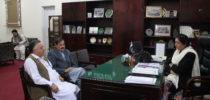 Visit of Mr. Mushtaq Ghani, Advisor to CM, KPK for Higher Education