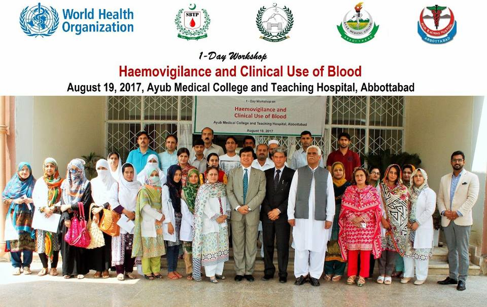 Workshop on Haemovigilance & Clinical Use of Blood