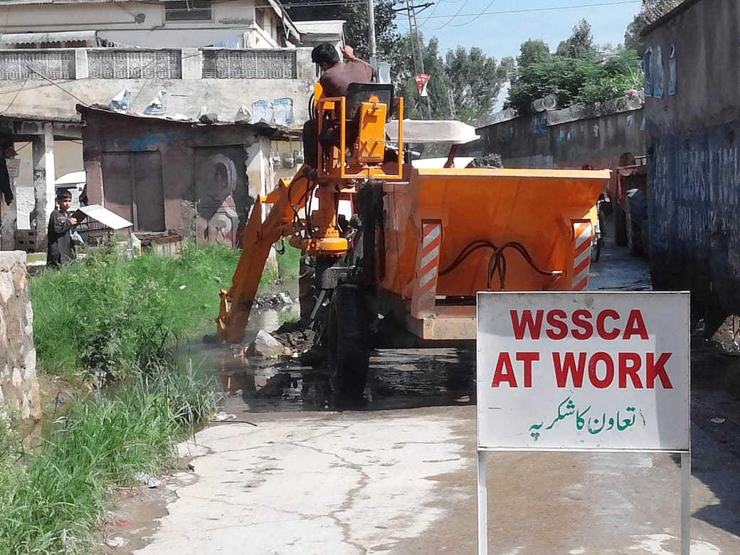 Drainage Issues Resolved by WSSCA