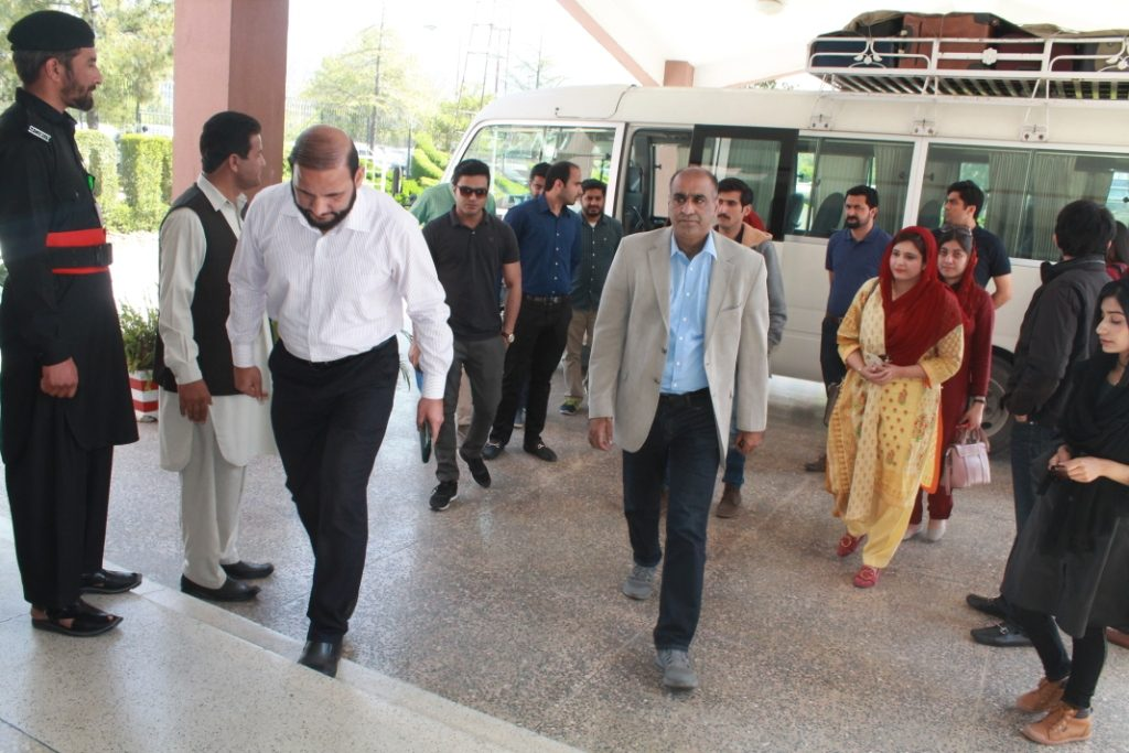 A Delegation of Civil Services Academy Lahore