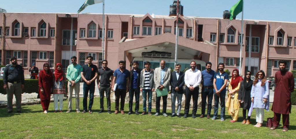 Delegation of CSA Lahore