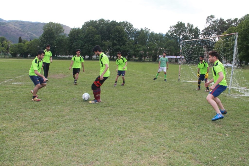 Football Match, Sports Week 2019